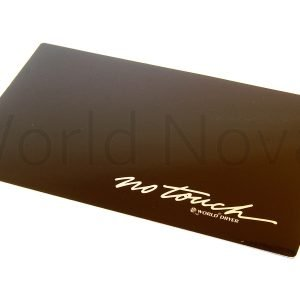 NO TOUCH INSERT PANEL - BLACK